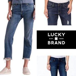 Lucky Brand Sienna Slim Boyfriend Jeans Size 4
